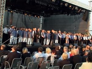 2010 Genoeg zangers in Rostock