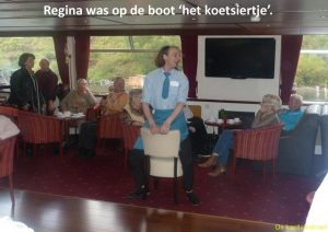 Regina deed steeds mee